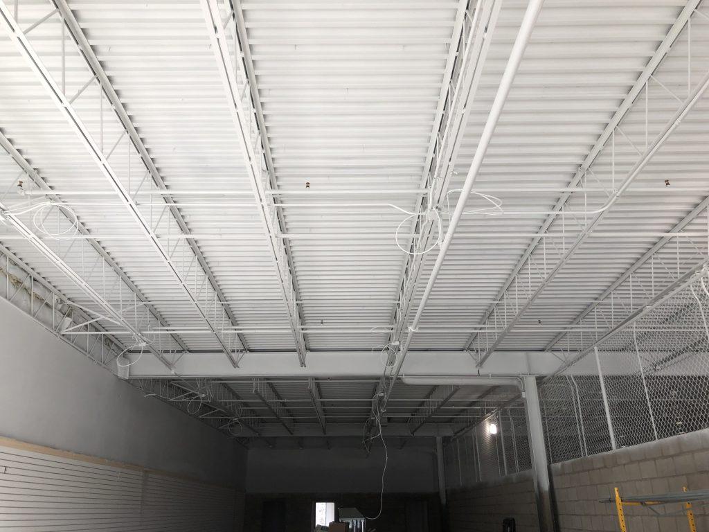 Industrial Dryfall Ceiling Painting